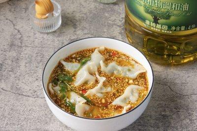 爽口开胃的酸汤水饺