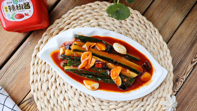韩式辣酱拌黄瓜❗️爽脆开胃的做法