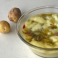 酸菜洋芋糍粑汤的做法图解6
