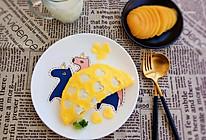 爱心蛋包饭#柏翠辅食节-营养佐餐#的做法