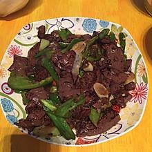 香辣猪血豆腐