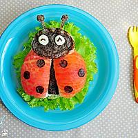 小瓢虫汉堡#柏翠辅食节-营养佐餐#