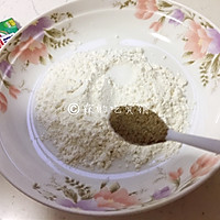 一朵开了花的菇  油炸椒盐金针菇的做法图解5