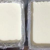 牛奶小方糕~用冰箱就可以做的夏日小清新甜点的做法图解6