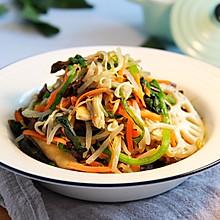 健康低卡家常菜——素什锦大拌菜