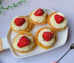 #豆果10周年生日快乐#草莓可颂的做法