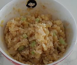 蛋黄土豆泥拌饭的做法