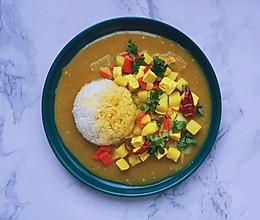 【素咖喱饭】减脂期也可以吃吃吃的做法
