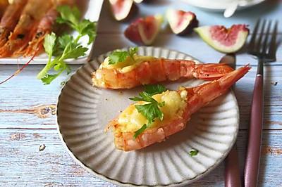 蒜蓉烤阿根廷红虾