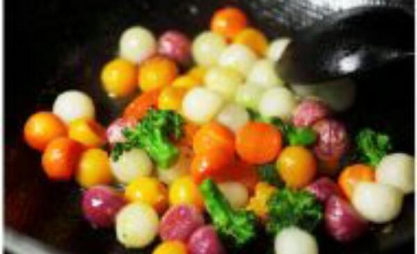 五色蔬果丸的做法