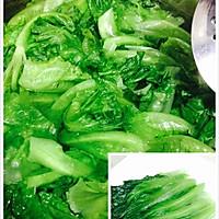 蚝油生菜的做法图解4