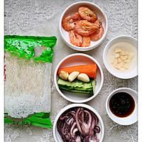 #麦子厨房#美食锅之泰式海鲜粉丝沙拉的做法图解1