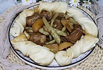 东北一锅出,排骨豆角炖土豆的做法