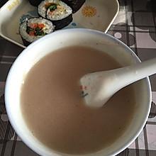 红豆薏米小米糊