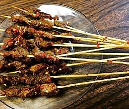烤箱版牛肉串的做法