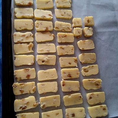 葡萄干饼干的做法 步骤11
