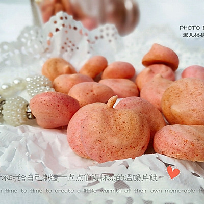 火龙果溶豆+