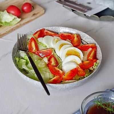 油醋汁生菜沙拉