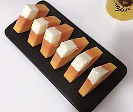 #换着花样吃早餐#木瓜牛奶冻的做法