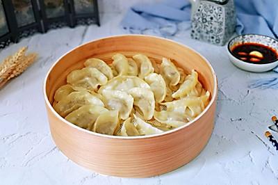 鲜肉馅蒸饺#母亲节,给妈妈做道菜#