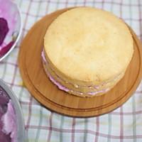 粉紫色的恋人--红心火龙果奶油蛋糕的做法图解6
