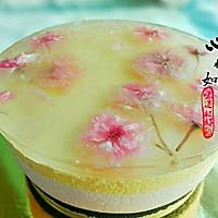樱花水果慕斯蛋糕#浪漫樱花季#的做法图解18
