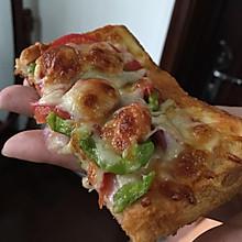 培根吐司披萨