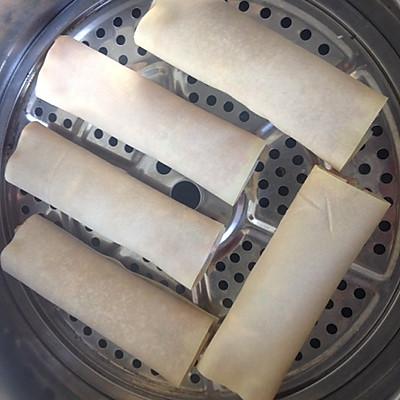 熏肉卷的做法 步骤5