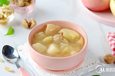 沙参苹果雪梨无花果汤