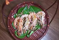 香茅烤大虾的做法