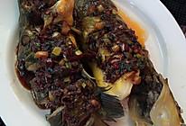 豆瓣酱蒸黄骨鱼的做法