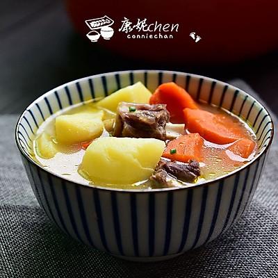 胡萝卜土豆牛骨汤