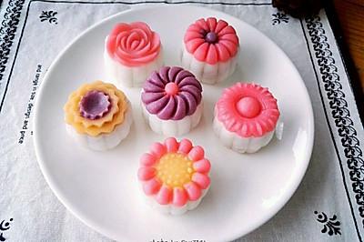炫彩立体果蔬冰皮月饼