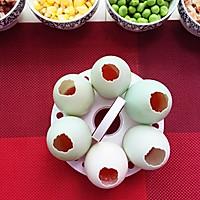 冬季的美味—蛋壳里孵出的腊味饭的做法图解4