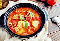 好吃不止一点点,番茄土豆炖牛腩的做法