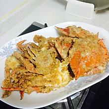 咸蛋黄炒蟹