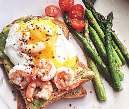 西式早午餐 brunch 低脂健康的做法