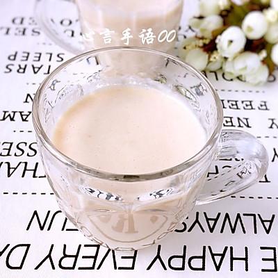 水蜜桃奶昔