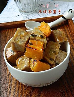 在潮汕受欢迎程度超高的甜品---羔烧番薯芋(甜番薯芋)