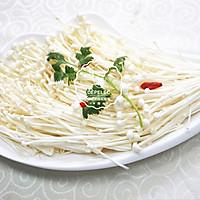 剁椒蒸金针菇 的做法图解1
