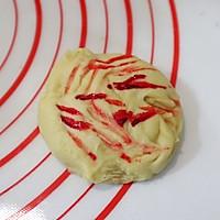 可爱小西瓜面包#金龙鱼精英100%烘焙大赛颖涵战队#的做法图解6