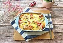 #硬核菜谱制作人#番茄焗米饭的做法