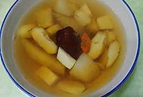 荸荠煮梨水的做法