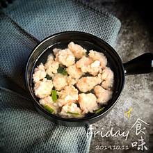 鲜嫩爽滑的虾滑汤