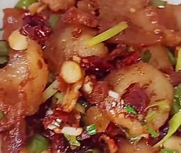 #营养小食光#干辣椒炒回锅肉的做法