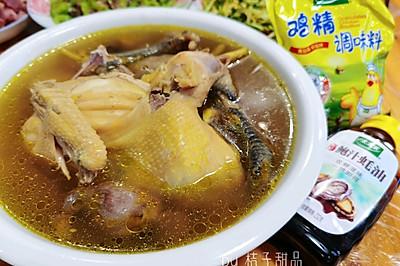 超简单的滋补月子餐~清炖鸡汤