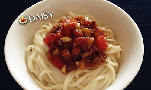 【❤超简单】西红柿茄子面的做法
