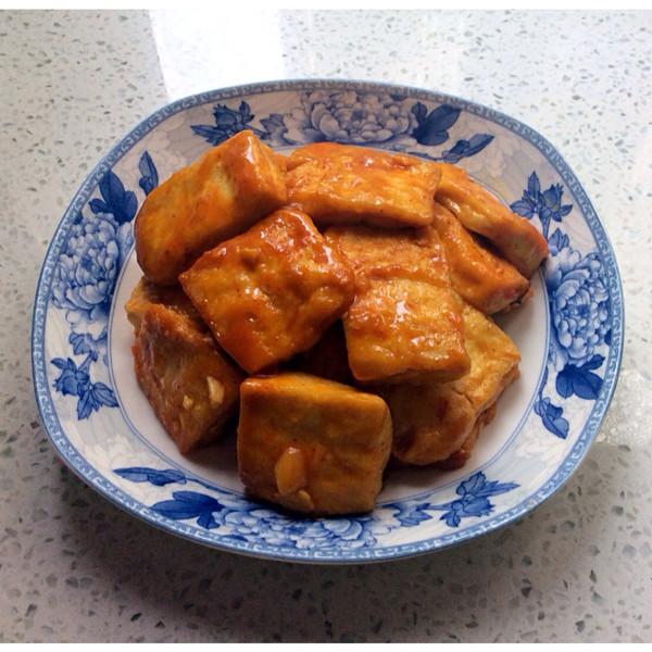 茄汁包浆豆腐的做法