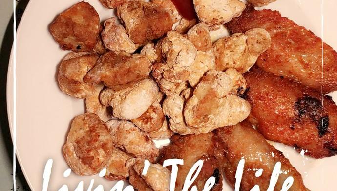 不会肥的小食拼盘:无油鸡胸肉