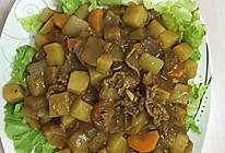 牛肉土豆咖喱饭的做法